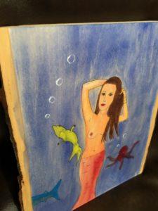 Opium Tales mermaid art