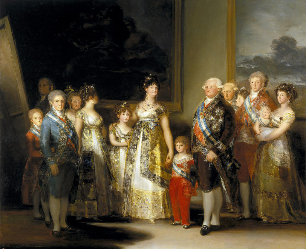 Francisco Goya - The Family of Charles IV