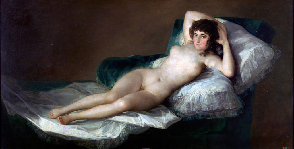 Francisco Goya - La Maja Desnuda