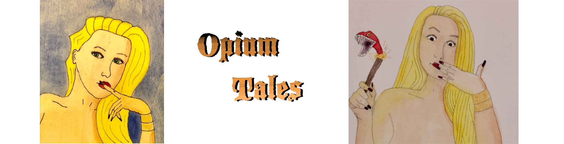Opium Tales blog header