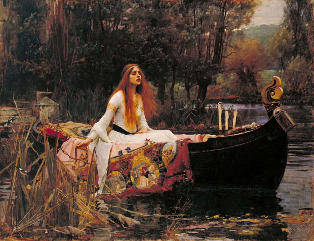 Waterhouse The Lady of Shalott