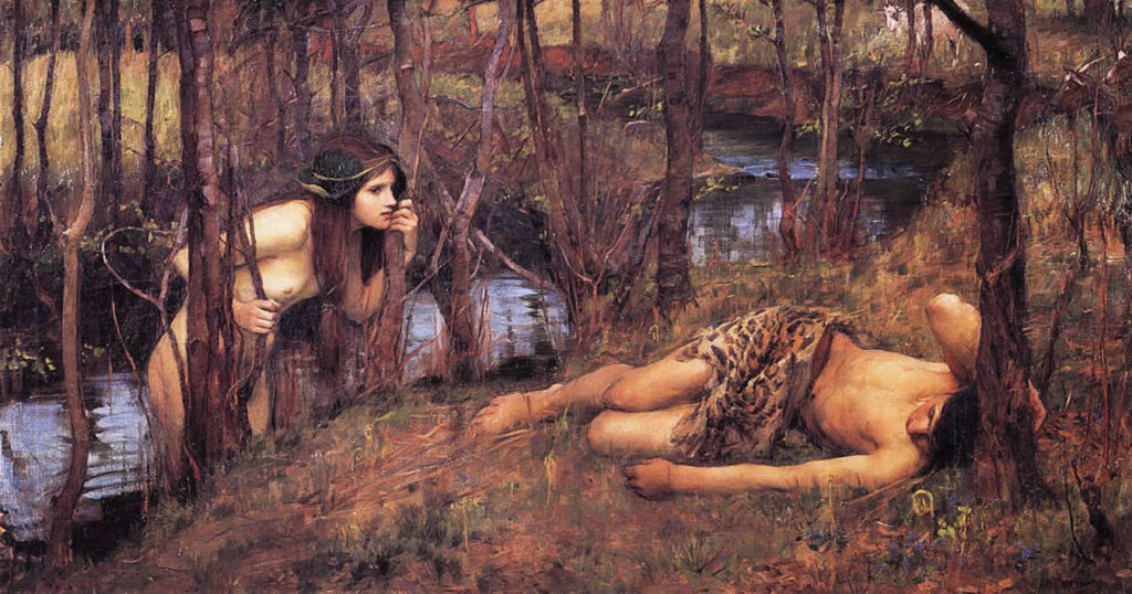 John William Waterhouse - A Naiad