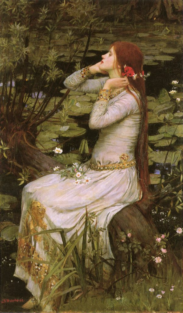 Waterhouse's Ophelia 1894
