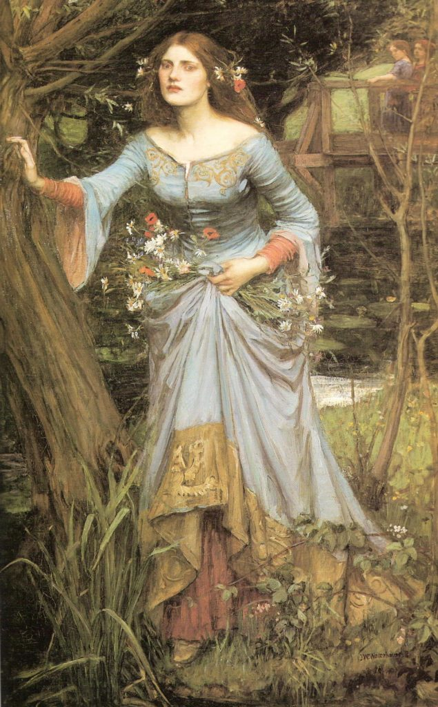 Waterhouse's Ophelia 1910