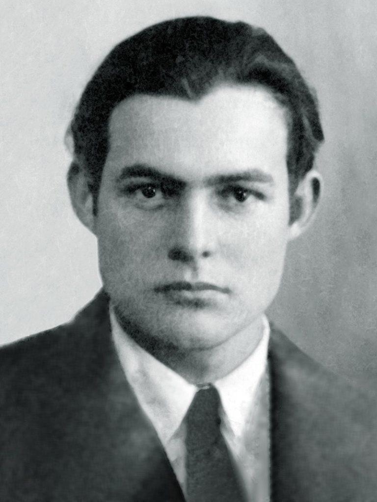 Ernest Hemingway - the artist has to suffer