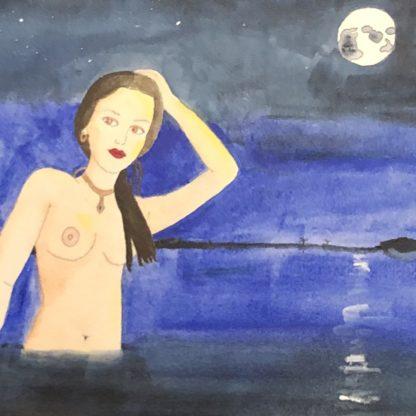 Midnight Bather