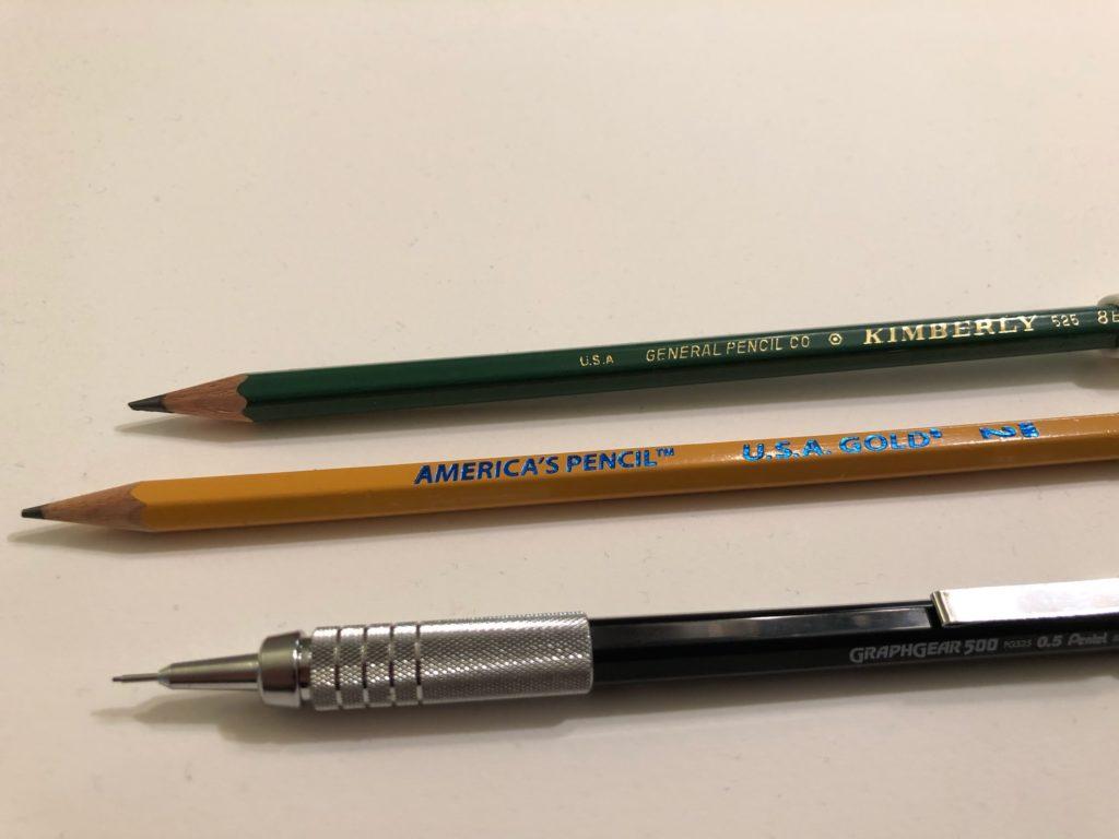mechanical pencils vs regular pencils
