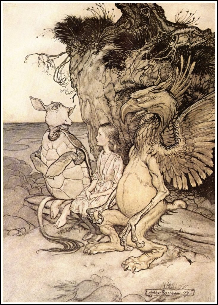 Arthur Rackham Alice in Wonderland