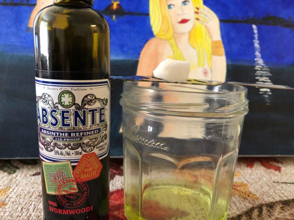the first absinthe