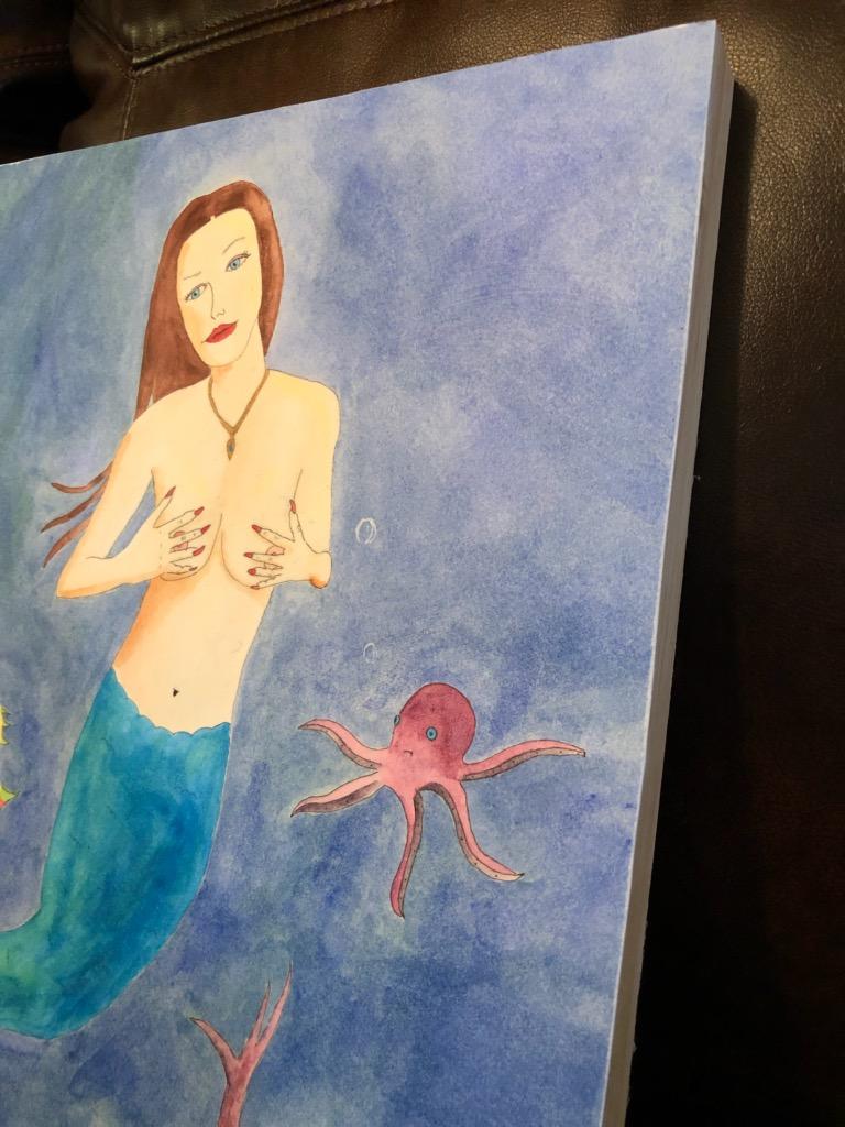 Caribbean mermaid side