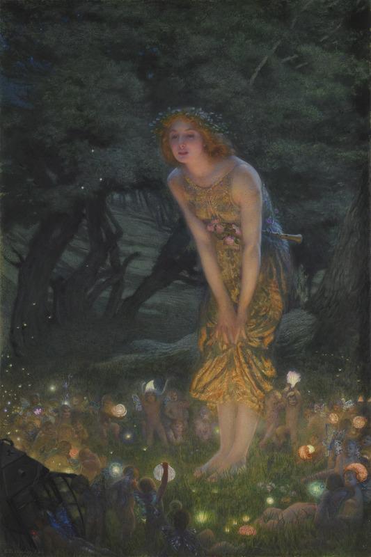 Edward Robert Hughes Midsummer Eve