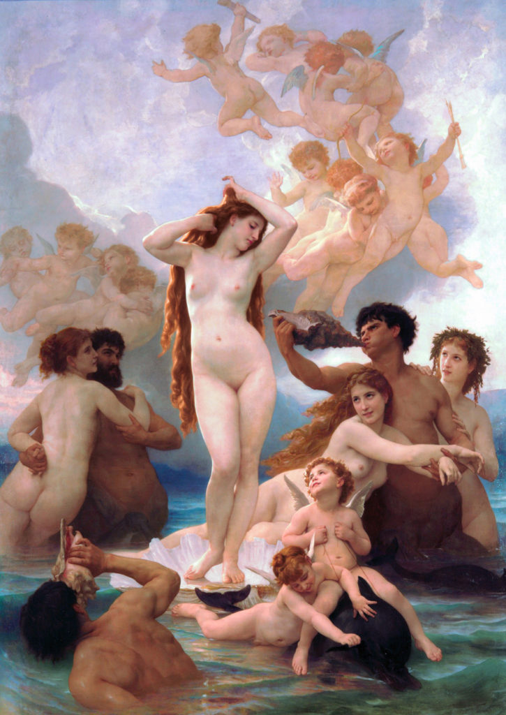 Bouguereau's Birth of Venus