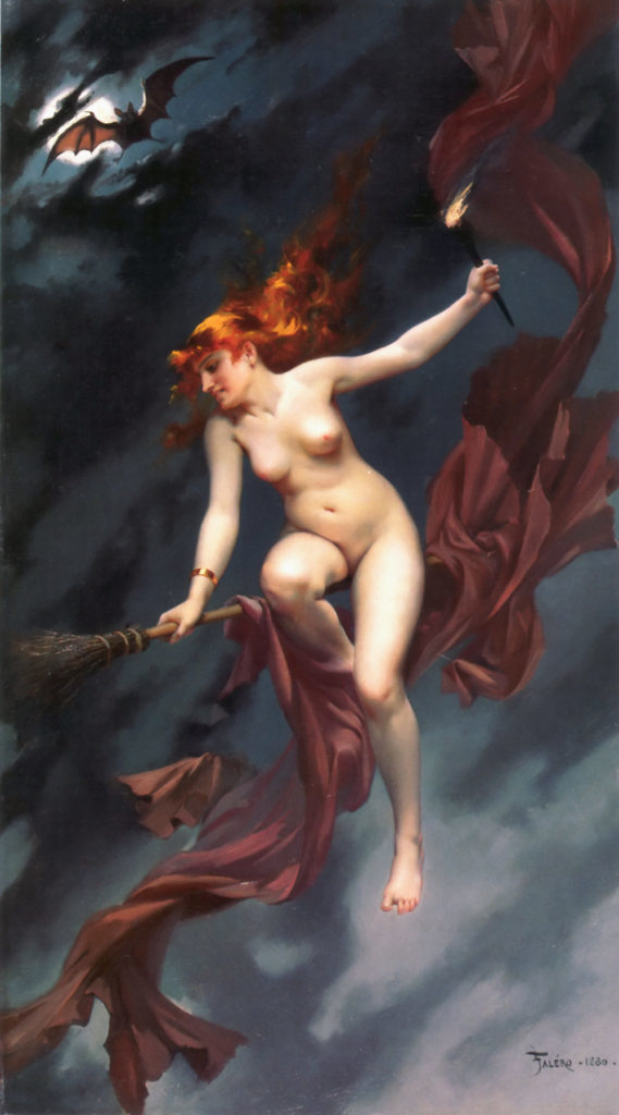 Witches from the Sabbath by Luis Ricardo Falero