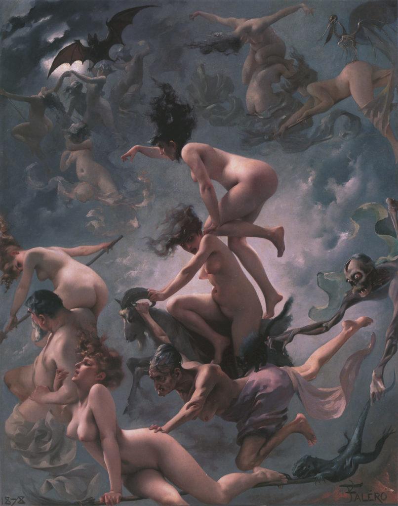 Vision de Faust by Luis Ricardo Falero