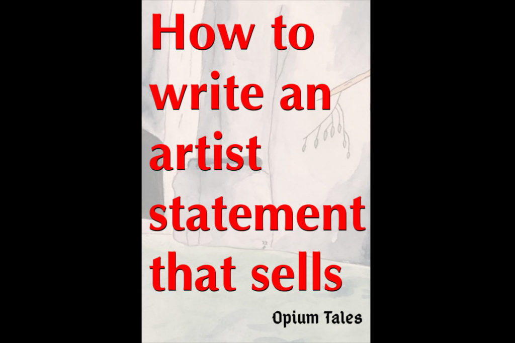 How to write an artist statement that sells