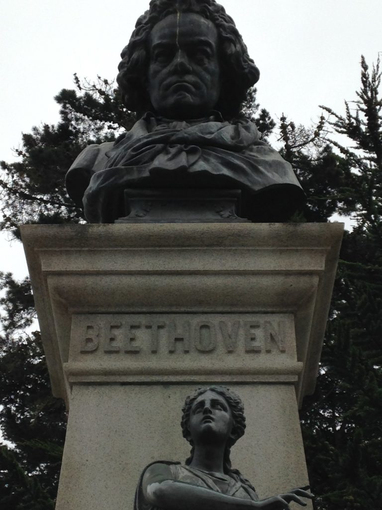 Beethoven statue San Francisco