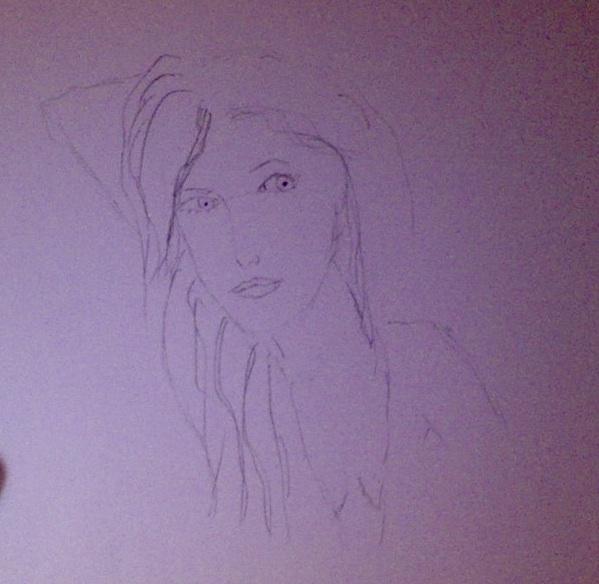 Paulina Rubio 5 minute sketch