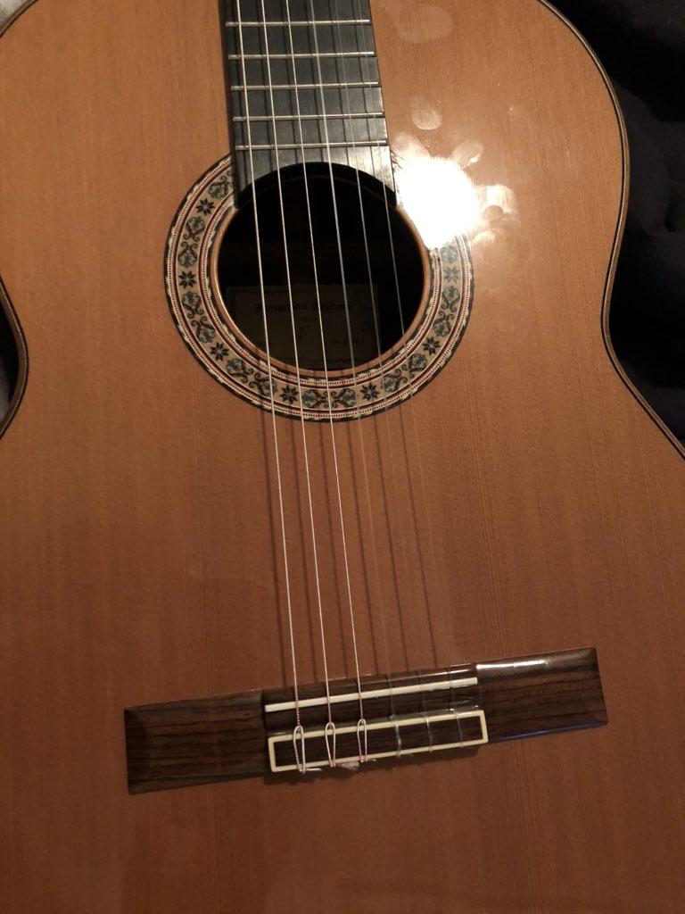 Opium Tales flamenco guitar Pepita