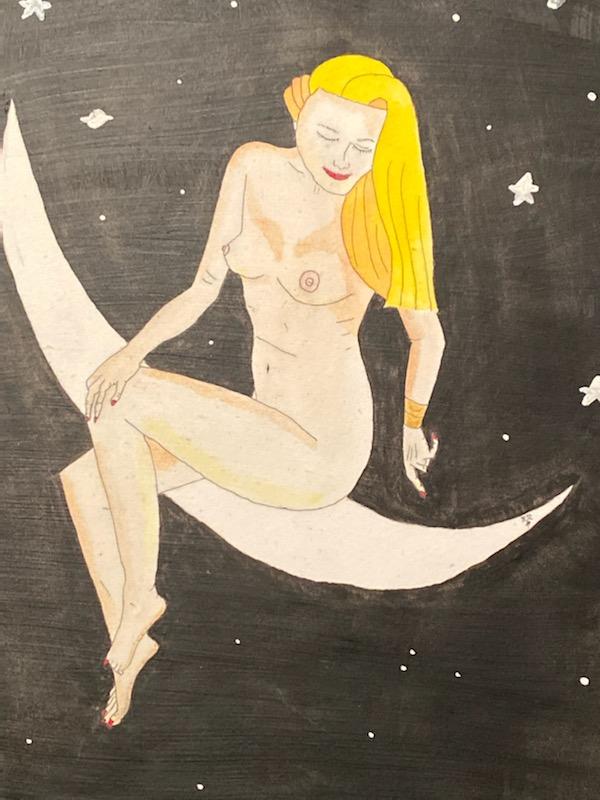 Selene Moon Goddess