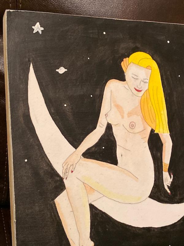 Ancient Greek Goddess Selene