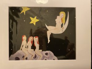 Selene and Hecate – 8×10 matted print