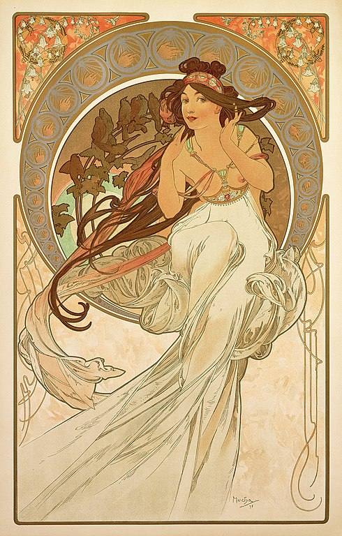 Alphonse Mucha - The Arts: Music