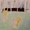 Waterfall Girls 8x10 matted print