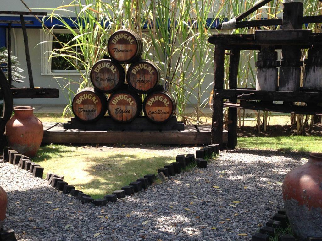 Brugal Rum distillery