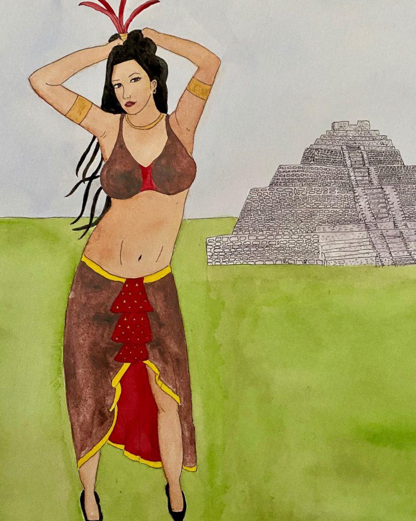 Opium Tales Mayan Princess Roxy