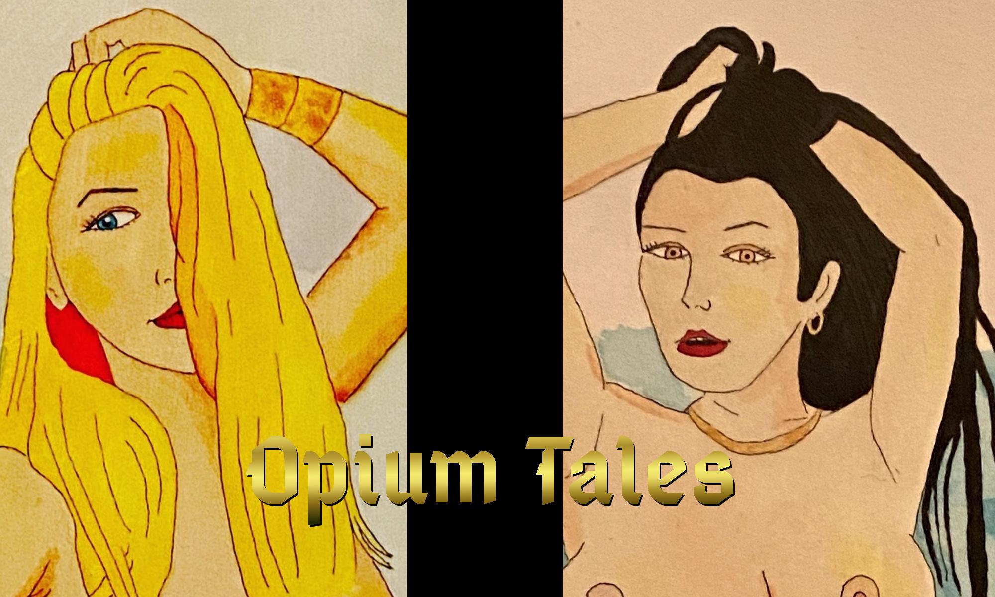 Allie Roxy Opium Tales header