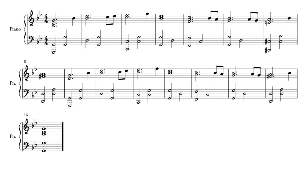Siren's Song piano
